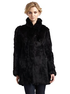 Adrienne Landau - Rabbit Fur Coat