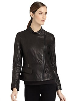 Via Spiga - Leather Moto Jacket