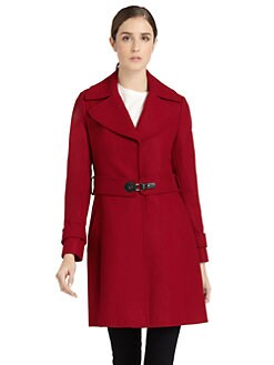 Via Spiga - Stitched Notch Collar Peacoat