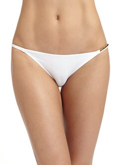 Just Cavalli - Hardware-Trim String Bikini Bottom