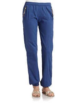 Just Cavalli - Cotton Zip-Pocket Pants