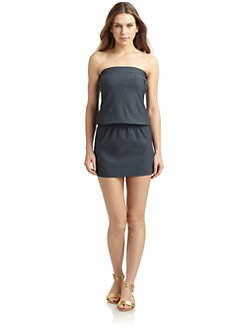 Chloe - Picot Knit Tube Dress