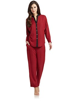 Nicole Miller - Cozy Elements Pajama Set