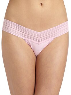 Hanky Panky - T-Party Low Rise Thong