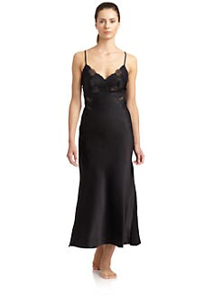 Josie Natori - Lolita Silk Nightgown