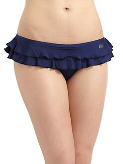French Connection - Frilly Ruffled Bikini Bottom