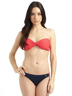 French Connection - Perfect Plains Twist Bandeau Bikini Top