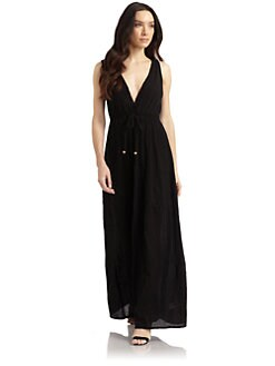 French Connection - Authentic Cotton Maxi Coverup