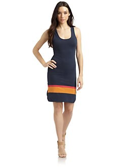 French Connection - Sunny Strip Jersey Dress