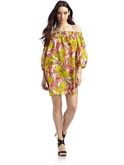 French Connection - Tahiti Cotton Floral Coverup