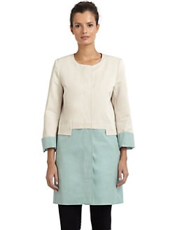 Tahari - Marisol Colorblock Coat