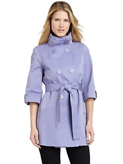 Tahari - Faille Trench Coat