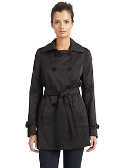 Tahari - Kathy Packable Trench Coat