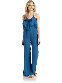6 Shore Road - Balboa Chiffon Halterneck Jumpsuit