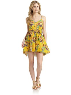 6 Shore Road - Bonfire Tropical Floral-Print Dress
