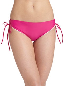 6 Shore Road - Andys Lace-Trimmed Bikini Bottom