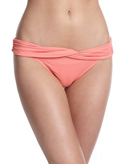 Carmen Marc Valvo - Twist-Front Bikini Bottom