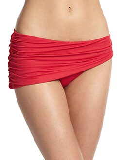 Carmen Marc Valvo - Skirted Bikini Bottom