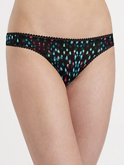 OnGossamer - Mesh Printed G-String