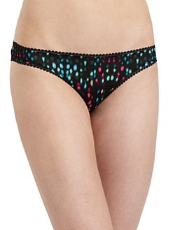 OnGossamer - Mesh Printed Bikini