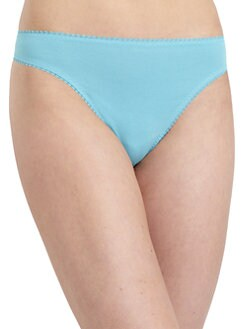 OnGossamer - Hip-G Picot Detail Thong