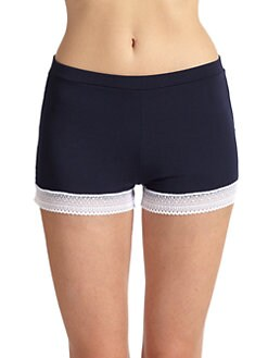 Cosabella - Ollie Lace Contrast Boxer Shorts