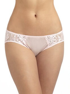 Cosabella - Lucky Sheer Lace & Mesh Low-Rise Briefs