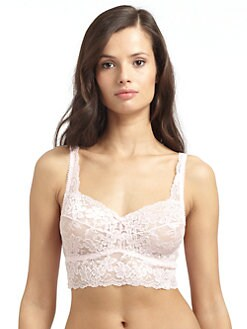Cosabella - Lucky Sheer Lace Cropped Camisole