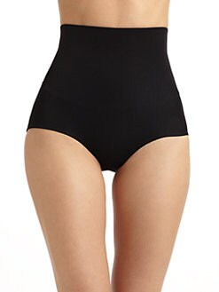 Yummie Tummie - Briefie High-Waisted Underwear/Black