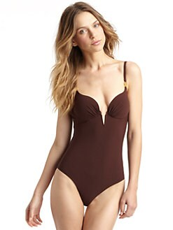 Natori - Balconnette One-Piece Tie Back Swimsuit