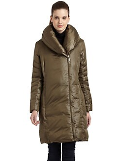 Rainforest - Pillow Collar Puffer Coat