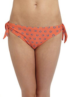 French Connection - Horseshoe Print Bikini Bottom