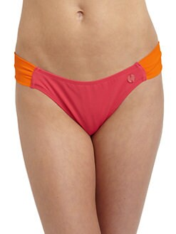 French Connection - Summer Stripe Colorblock Bikini Bottom