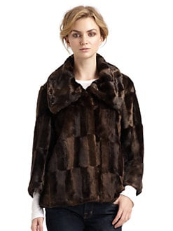 Tahari - Tara Faux Fur Coat