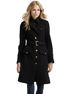 Andrew Marc - Natasha Wool Peacoat