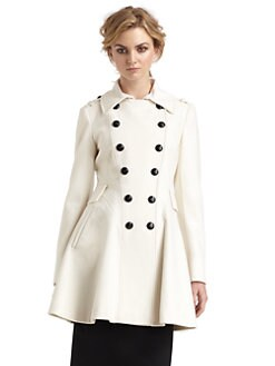 Via Spiga - Double Breasted Skating Coat