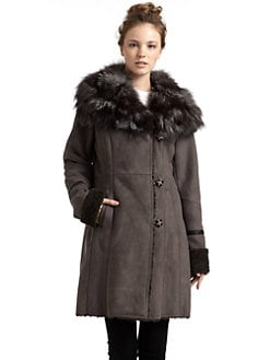 Laundry by Shelli Segal - Faux Shearling Coat