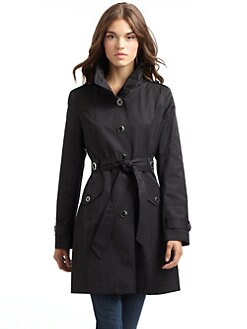 Via Spiga - Stand Collar Trenchcoat