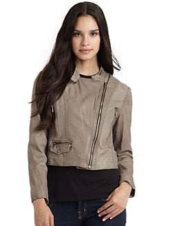 Andrew Marc - Gisele Lambskin Motorcycle Jacket