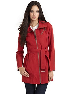Andrew Marc - Darcy Belted Trenchcoat