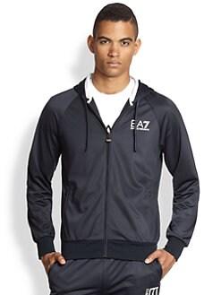 EA7 Emporio Armani - Logo Full-Zip Hoodie Jacket