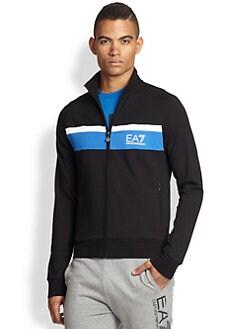 EA7 Emporio Armani - Stretch Cotton Track Jacket