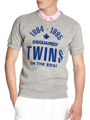 Twins On The Edge Sweatshirt Tee