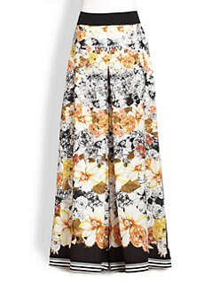Piazza Sempione - Printed Trouser Skirt