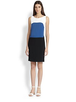 Piazza Sempione - Colorblock Shift Dress