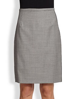 Piazza Sempione - Side-Trimmed Pencil Skirt