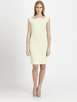Piazza Sempione - Tulle-Trimmed Sheath Dress