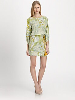 Piazza Sempione - Silk Paisley Dress