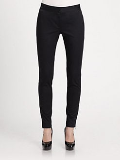 Piazza Sempione - Cotton Sateen Skinny Pants