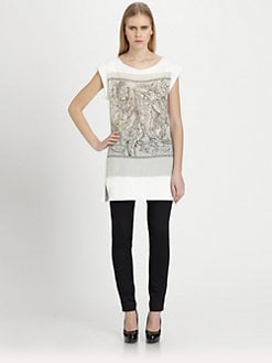 Piazza Sempione - Paisley Jersey Tunic